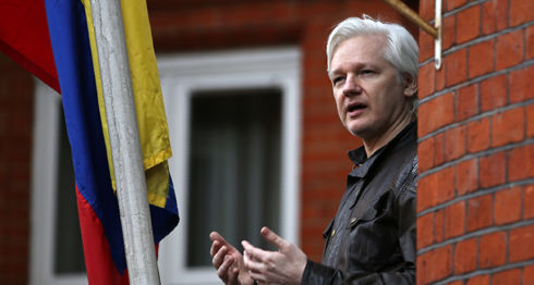 Julian Assange, Ecuador