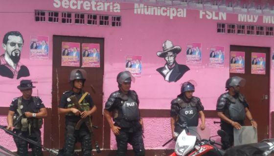 Muy Muy, FSLN, Frente Sandinista, Alcalde destituido