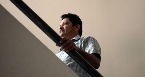 Medardo Mairena, coordinador del Consejo Nacional en Defensa de la Tierra, el Lago y la Soberanía. LA PRENSA / Óscar Navarrete.