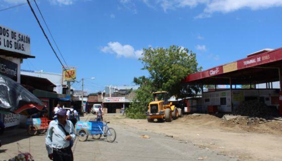 Rivas, terminal de buses