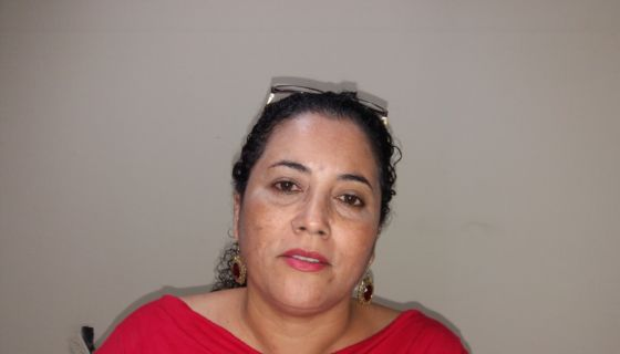 Reyna Hernández, alcaldesa del PLC, en Wiwili, Jinotega