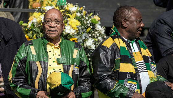 Sudáfrica, Jacob Zuma
