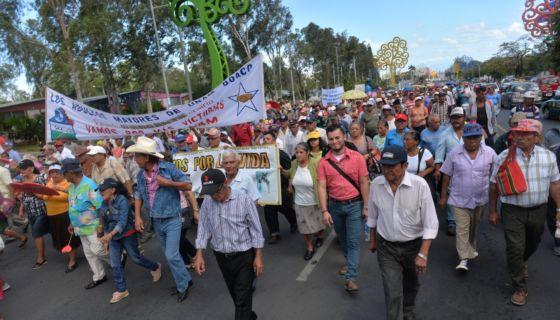 jubilados, pensionados, INSS, Nicaragua