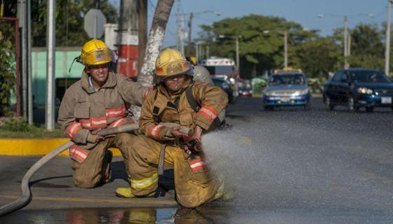 bomberos, Managua,
