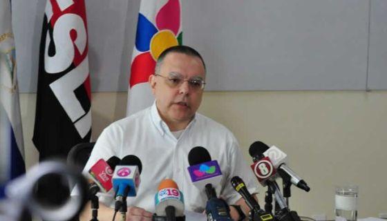 Roberto López, presidente del INSS en Nicaragua. LA PRENSA/ ARCHIVO