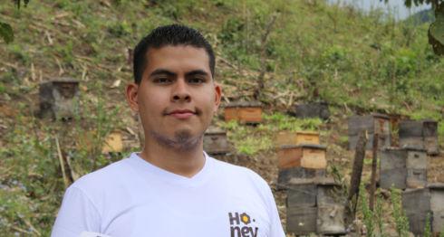 Néstor Bonilla, cofundador del proyecto digital Honey Things. LA PRENSA /CORTESÍA