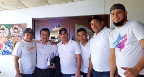Tres nicaragüenses y dos venezolanos acusados en Panamá de extorsión fueron liberados tras comprobar que en realidad eran víctimas de trata de persona. LA PRENSA /CORTESÍA