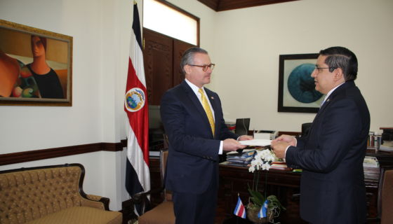 Nuevo embajador de Nicaragua ante Costa Rica, Duilio Hern´nadez Avilés