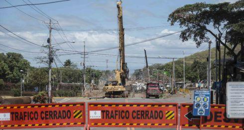 Pasos a desnivel en Managua