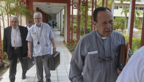 Monseñor Abelardo Mata, portavoz de la Conferencia Episcopal de Nicaragua