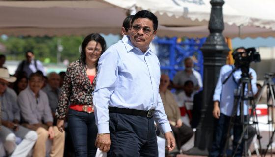 Francisco López, el hombre fuerte de la economía y de los negocios turbios del régimen orteguista. LA PRENSA/Jader Flores