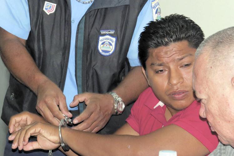 Maycol Altamirano, acusado de violar a una joven de 17 años en la Colonia Miguel Bonilla en horas de la tarde del 20 de febrero. Priscila Gómez