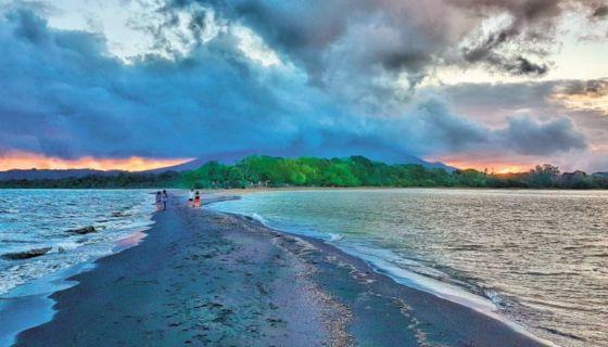 La Punta de Jesús María en la Isla de Ometepe, es uno de los destinos turísticos más visitados. LA PRENSA/CARLOS VALVERDE