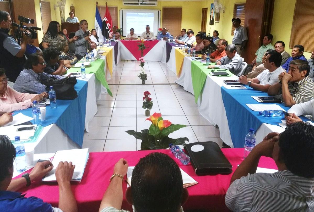 La última mesa de negociación del salario mínimo se realizó sin la presencia del Cosep. LA PRENSA/ CARLOS VALLE