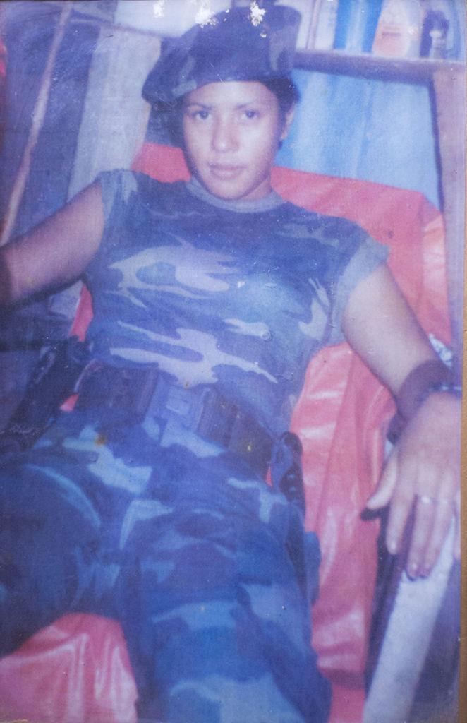 En La Contra fungió como paramédica. Según narra desde su llegada fue preparada en Honduras y en Estados Unidos para socorrer a los heridos. LA PRENSA/ CORTESIA
