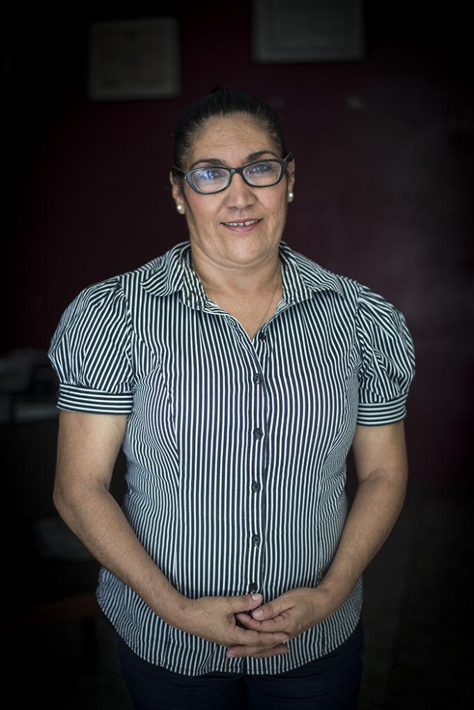 Julia Peralta se incorporó al Frente Democrático Nicaragüense (FDN) cuando tenía 16 años y permaneció allí hasta 1990 cuando inició el desarme. LA PRENSA/ ÓSCAR NAVARRETE