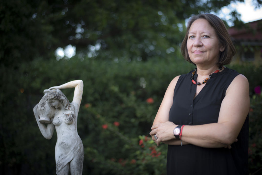 María Teresa Blandón, socióloga, catedrática y directora de la oenegé Programa Feminista La Corriente. LA PRENSA / Óscar Navarrete