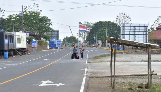 Frontera con Costa Rica, gobierno nicaragüense