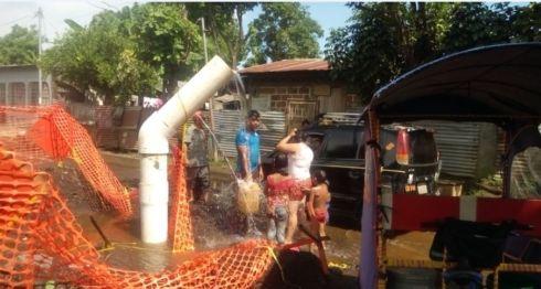 despale en Chinandega, agua potable