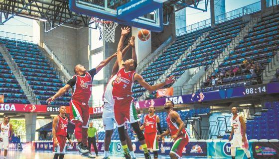 Jinotega sumó su quinta victoria en la Liga Superior de Baloncesto. LA PRENSA/CARLOS VALLE