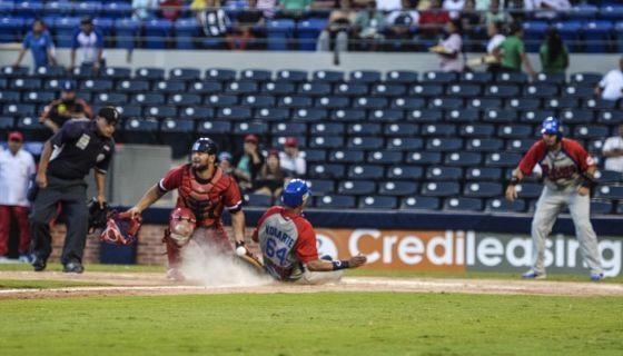 El Frente Sur Rivas venció a los Dantos e igualó la serie a un triunfo por equipo, aunque se vio forzado a ir a entradas extras en Managua. LA PRENSA/WILMER LÓPEZ