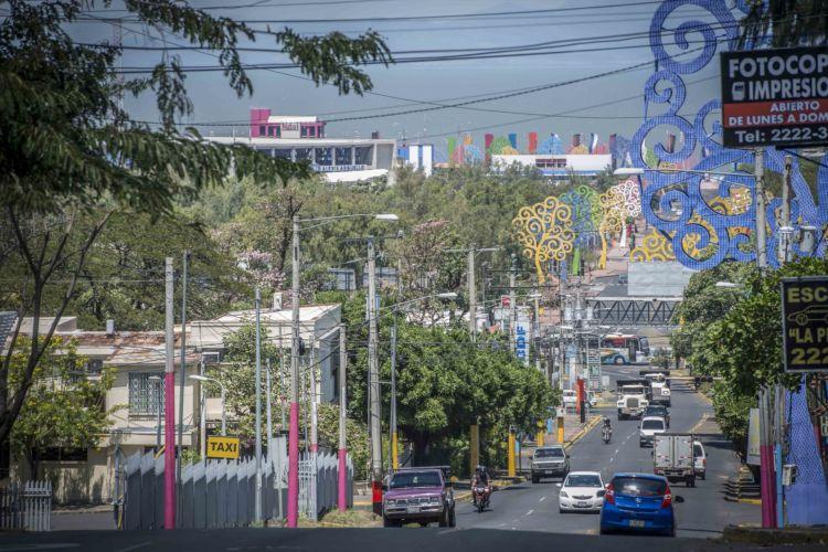 Fallas sísmicas de Managua