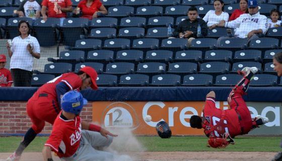 El Frente Sur Rivas ganó los partidos del sábado y domingo para ganar la serie a los Dantos, en el primer fin de semana del campeonato. LA PRENSA/JADER FLORES