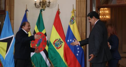 XV Cumbre del Alba, Nicolás Maduro, Daniel Ortega