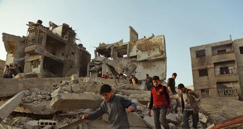 Guta Oriental, Siria