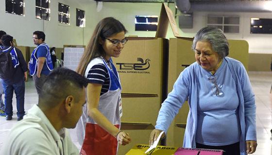Tribunal Electoral salvadoreño