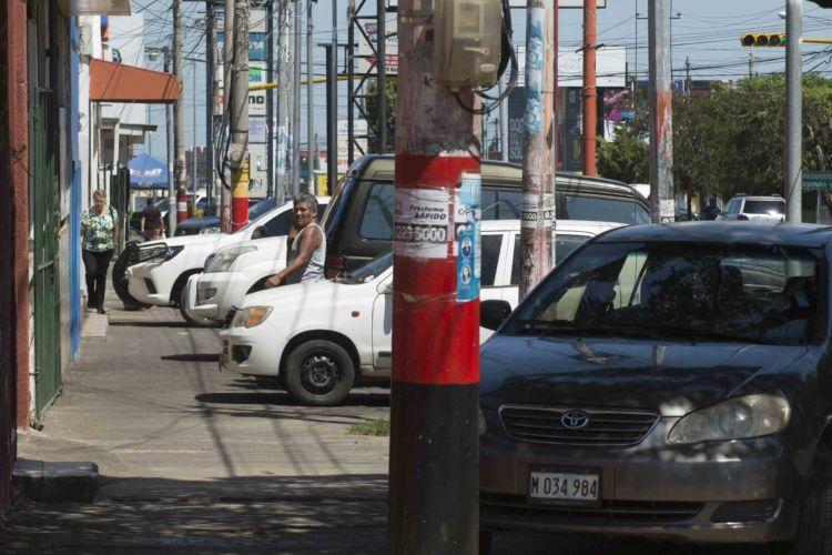 Caos urbano en Managua