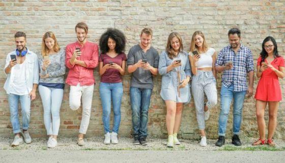 estudiantes, celular