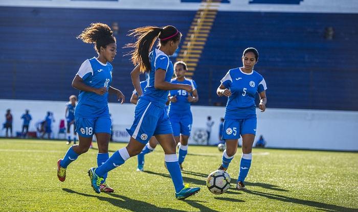 La Selección de Futbol Femenino de Nicaragua tiene dos grandes torneos de frente, los Juegos Centroamericanos y del Caribe de Barranquilla, y el Premundial. LA PRENSA/CARLOS VALLE