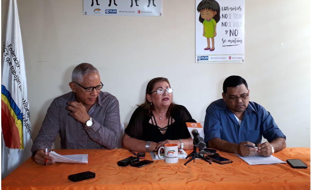 Codeni rechaza violencia de género e insta al Estado a tomar acciones para frenar este flagelo. LA PRENSA/ IVETTE MUNGUÍA