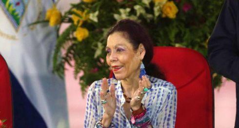 La primera Dama y vicepresidenta designada por el poder electoral, Rosario Murillo. LA PRENSA/ARCHIVO