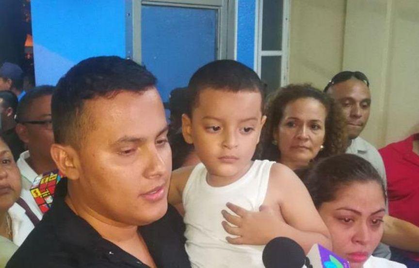 niño secuestrado, Chinandega