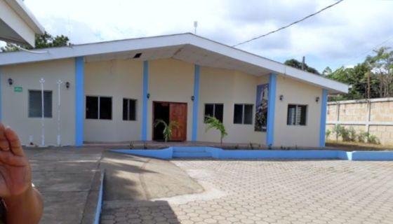 El albergue de mujeres víctimas de violencia que fue ocupado por la Alcaldía de Masaya. LA PRENSA/ NOEL GALLEGOS