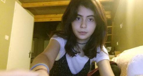 Leana Bonilla Cruz, nicaragüense de 19 años fallecida en Lyon, Francia, a raíz de una otitis que se complicó. LA PRENSA / Tomada de Twitter.