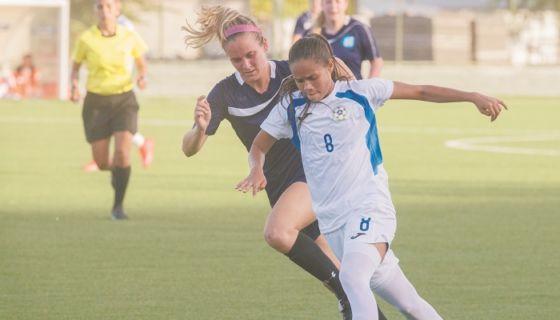 El próximo 6 y 8 de abril, la Selección Nicaragüense de Futbol Femenino chocará con Cuba en La Habana. LA PRENSA/URIEL MOLINA