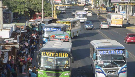 Transporte público de Managua