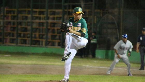 Carlos Rayo es hasta el momento el cerrador más dominante del Campeonato Nacional de Beisbol. LA PRENSA/L.E. MARTÍNEZ