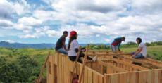 El voluntariado en Techo Nicaragua se sostiene en un gran compromiso social, aseguró, Moisés Flores, director social de la misma. LA PRENSA/ CORTESÍA