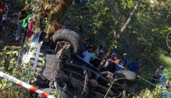 Uno de las accidentes de tránsito mortales ocurrió en Jinotega. LA PRENSA/ Cortesía