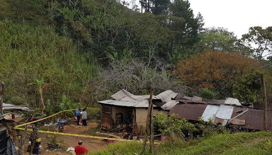Jalapa, mujeres quemadas