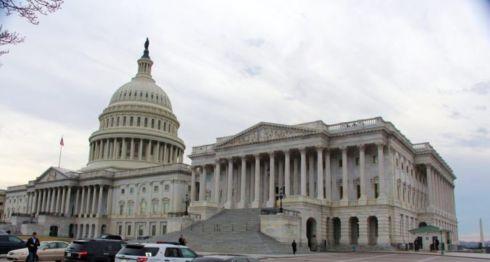 El capitolio de Estados Unidos, sede del congreso, donde este miércoles habrá una audiencia en la que los legisladores recibirán al representante de la USAID. LA PRENSA/ARCHIVO