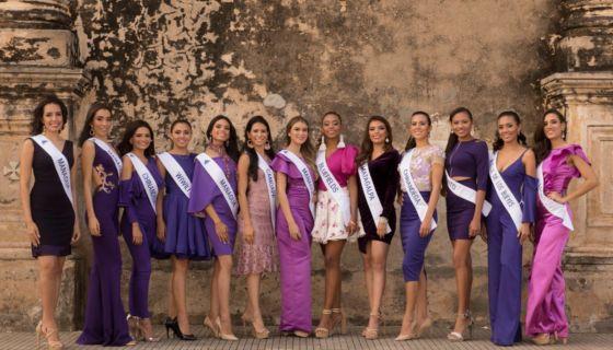 Miss Nicaragua, Miss Nicaragua 2018, candidatas a Miss Nicaragua 2018