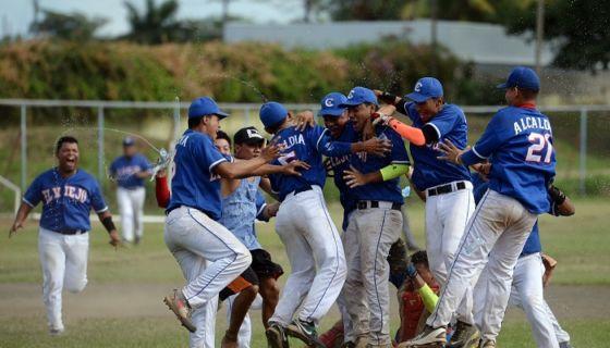 Chinandega venció a Matagalpa en la final del Campeonato Nacional de Beisbol Juvenil A del año 2017. LA PRENSA/ARCHIVO/Maynor Valenzuela