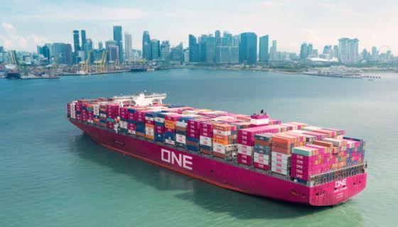 ONE Line surgió tras la fusión de las tres navieras más importantes de Japón. LA PRENSA/ CORTESÍA