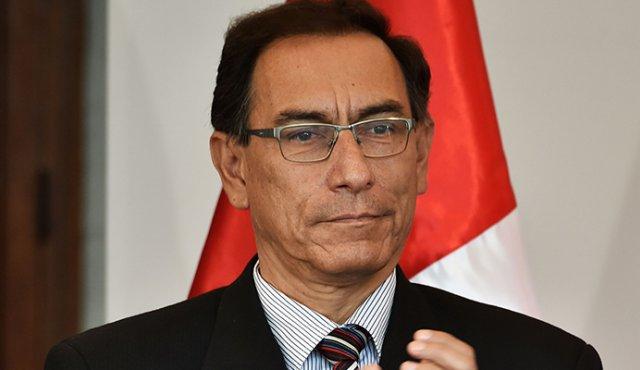 Martín Vizcarra era vicepresidente de Pedro Pablo Kuczynski y embajador en Canadá. LA PRENSA/ AFP
