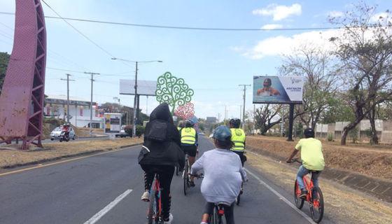 Ciclovías en Managua